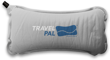 The TravelPal pillow